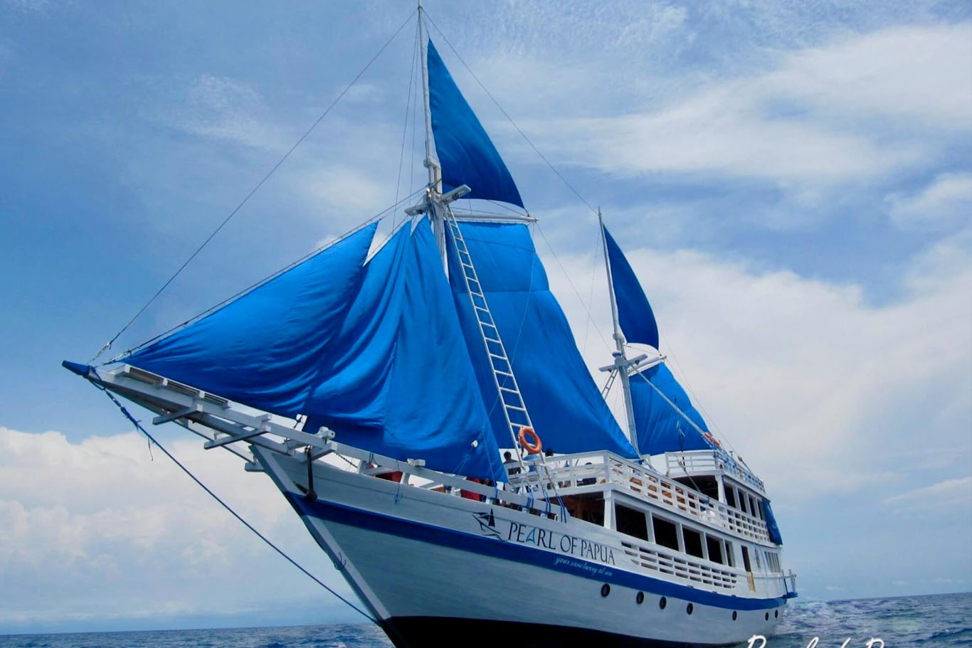 Raja Ampat Liveaboard Charter by Pearl of Papua