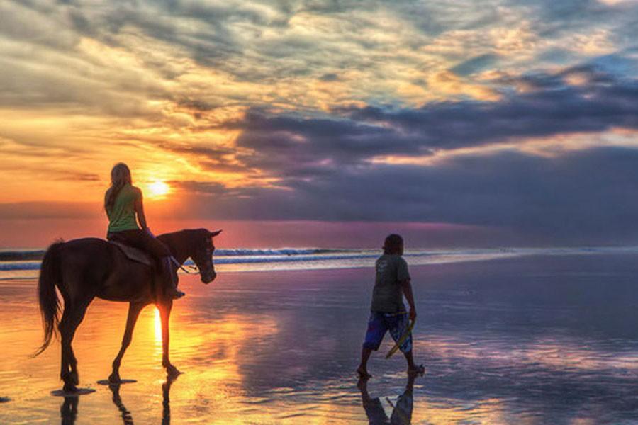 Horse Ride on Seminyak Beach Bali-14